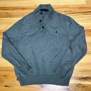 Grey Polo by Ralph Lauren Sweater